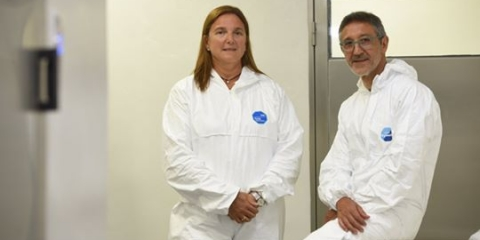 Se inauguró el primer Laboratorio de Bioseguridad nivel 3 en el IBR