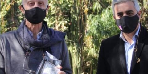 HOMENAJEARON A NESTOR CARRILLO EN EL DÍA DEL DOCENTE UNIVERSITARIO