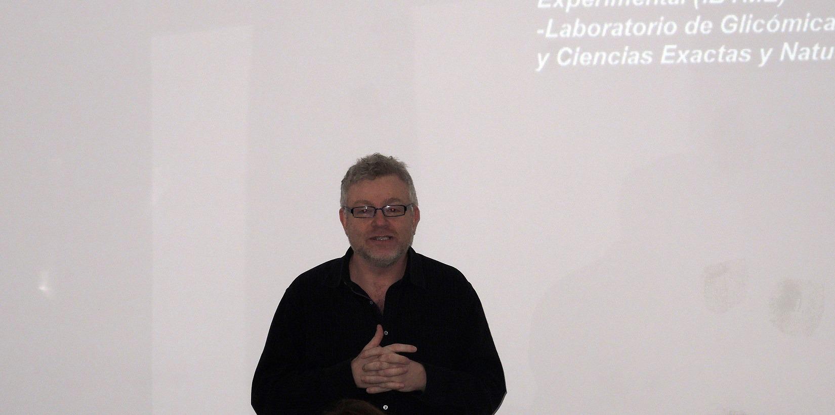 Gabriel Rabinovich en el IBR