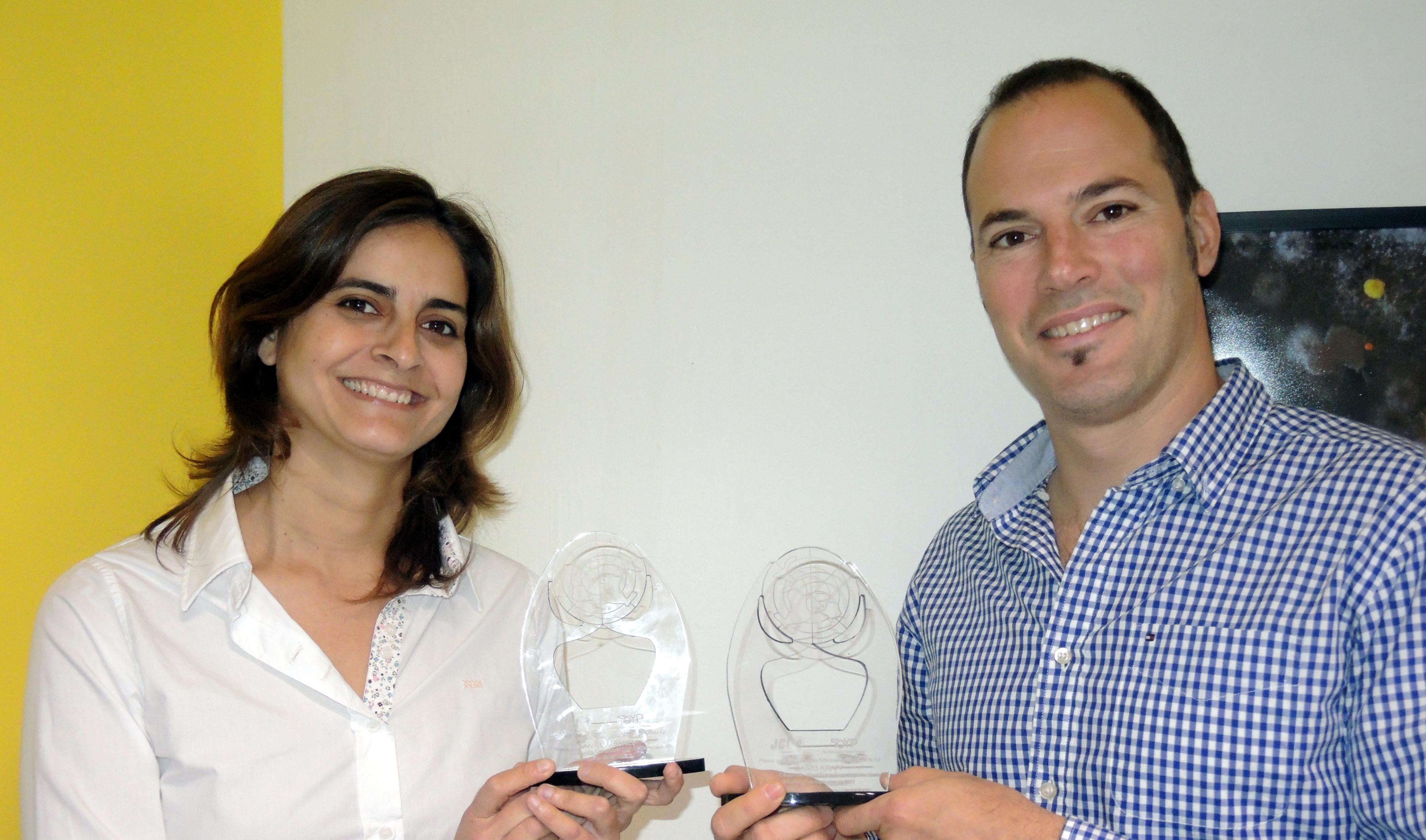 Daniela Albanesi y Darío Krapf