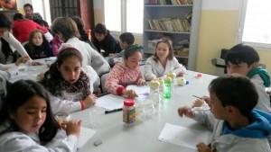 Alumnos de la Escuela Primaria Paul Harris, Rosario.